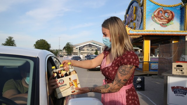 Drive-In Beerfest Opens In Bavaria
