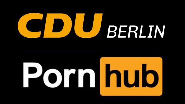 CDU Berlin, Logo, Porn Hub