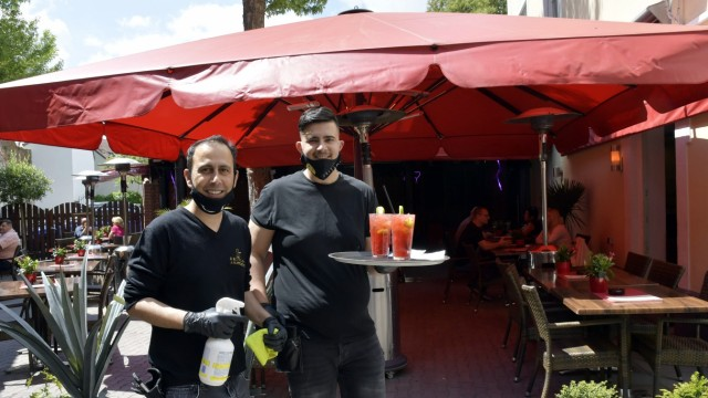 Biergärten, Corona