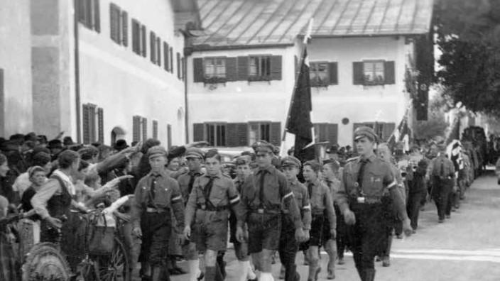 """Broschüre von Hans Obermair """"Politik in Glonn 1933 bis 1945"""" Nationalsozialismus Nazi-Zeit"""