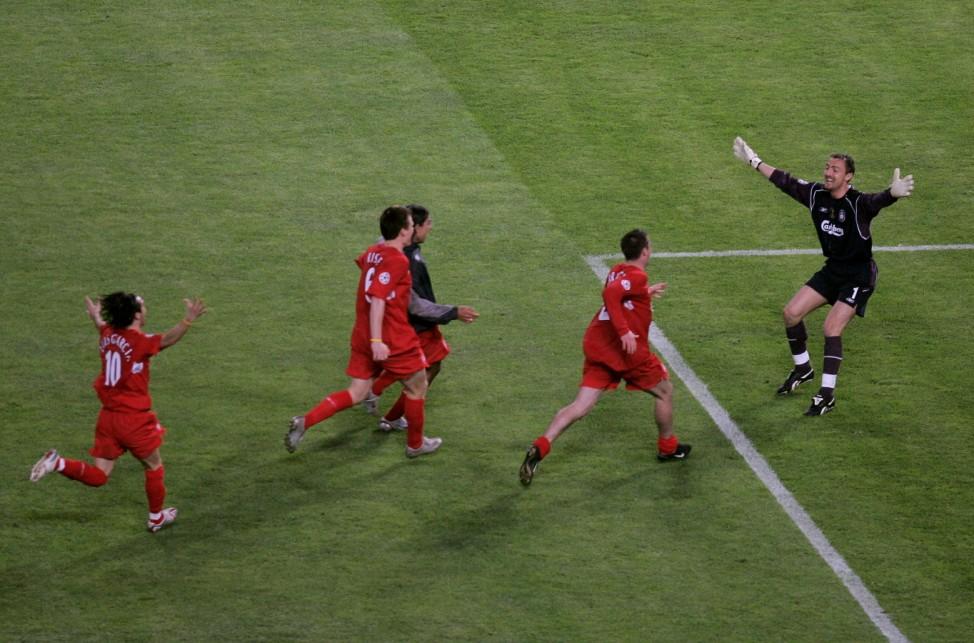 UEFA Champions League Final - AC Milan v Liverpool; Liverpool
