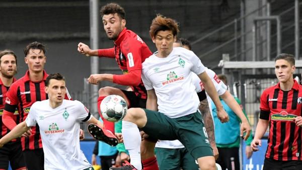 Bundesliga - SC Freiburg v Werder Bremen
