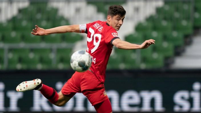 SV Werder Bremen vs Bayer 04 Leverkusen, 18.05.2020 Kai Havertz (Leverkusen 29), Fussball: 1. Bundesliga: Saison 19/20: