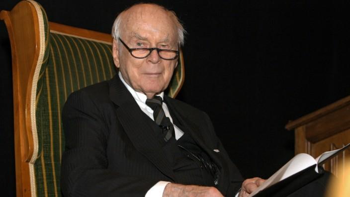 Loriot erhält Kulturellen Ehrenpreis 2007 der Stadt München