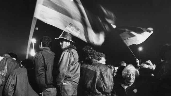 Feier der Wiedervereinigung in Berlin