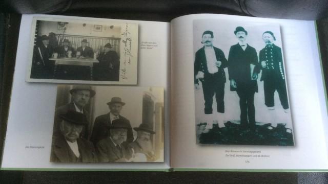 Sachsenkam Buch: Cover und Innen