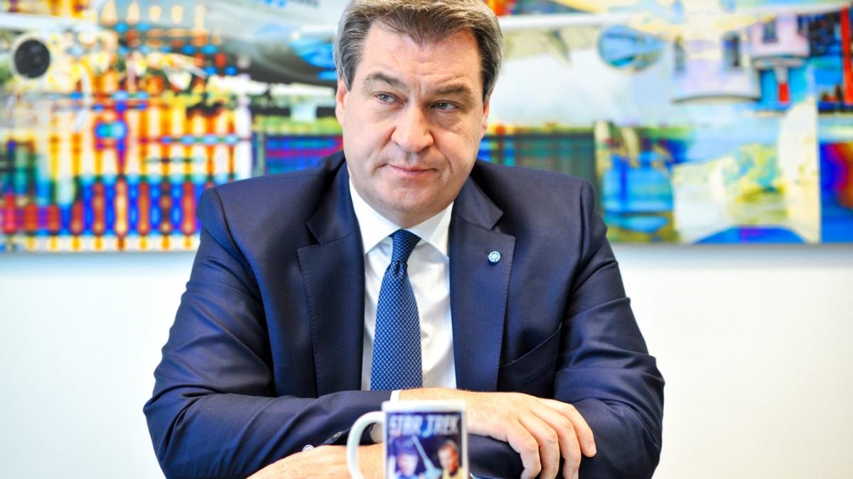 Bayern: Söders Tasse beim CSU-Parteitag