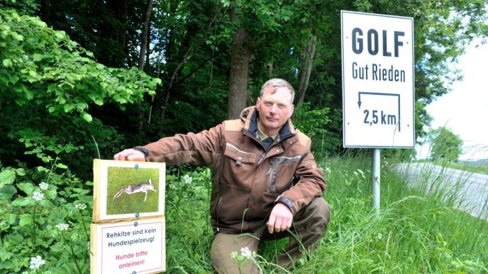 Starnberg: Gut Rieden - Jagdaufseher Klaus Peters