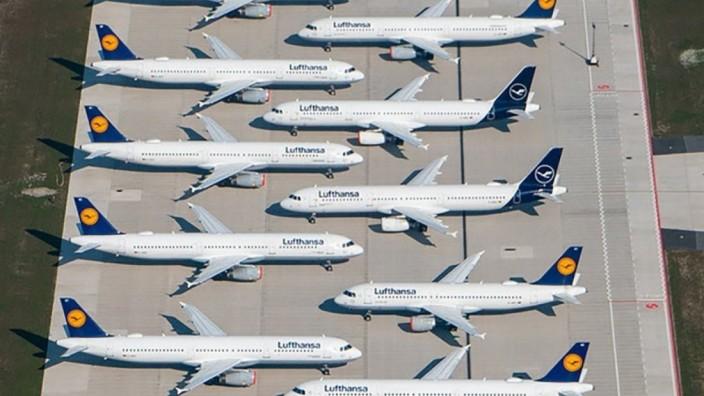 Corona-Krise - Lufthansa-Rettungspaket