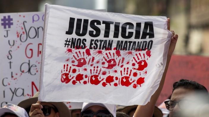 Zahl ermordeter Frauen in Mexiko erreicht im April neuen Höchstst