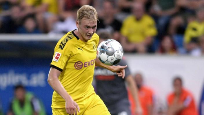 27 07 2019 Fussball 1 Bundesliga 2019 2020 Testspiel im Rahmen des Sommertrainingslagers Borussia; Julian Brandt mit Ball