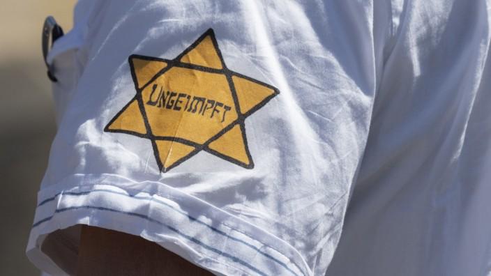Tragen von Judensternen nicht hinnehmbar