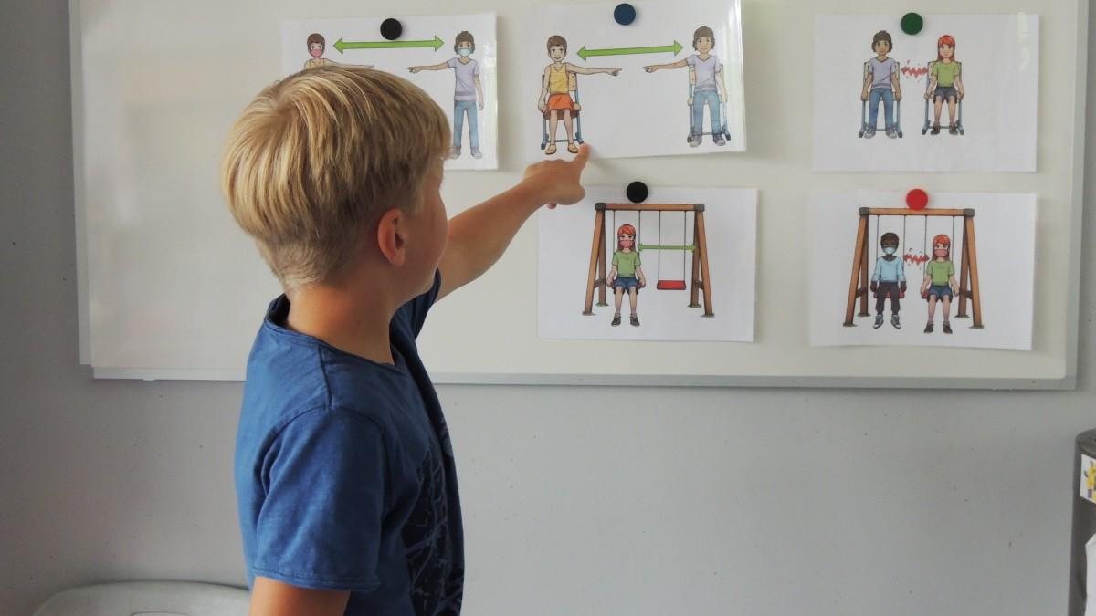 Corona: Bayerns Grund- und Mittelschüler bleiben zurück