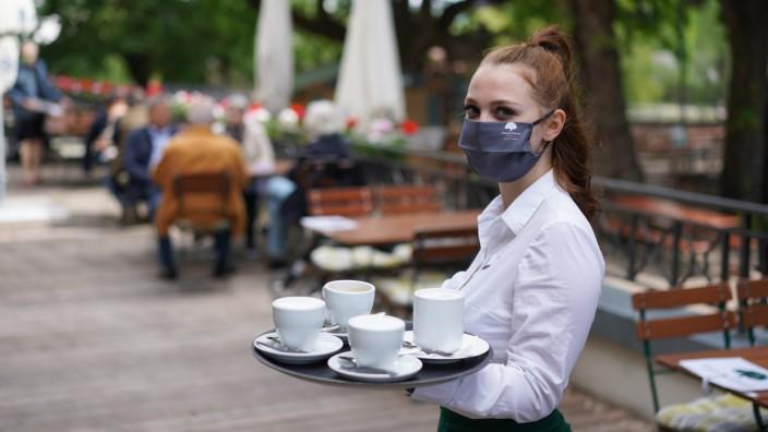 Coronavirus - Erstes Wochenende mit offenen Restaurants