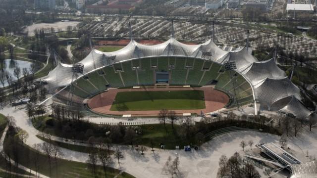 Olympiastadion in München, 2019