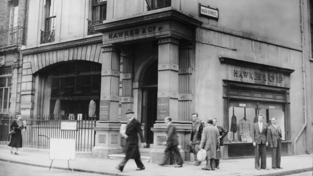 Savile Row - Hawkes & Co