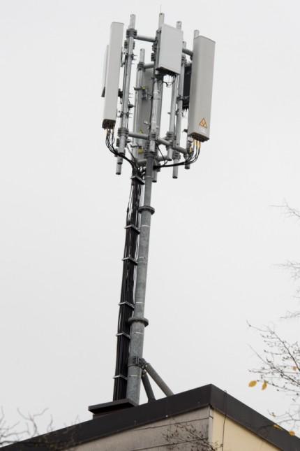 5 G Mobilfunkantenne in München, 2019