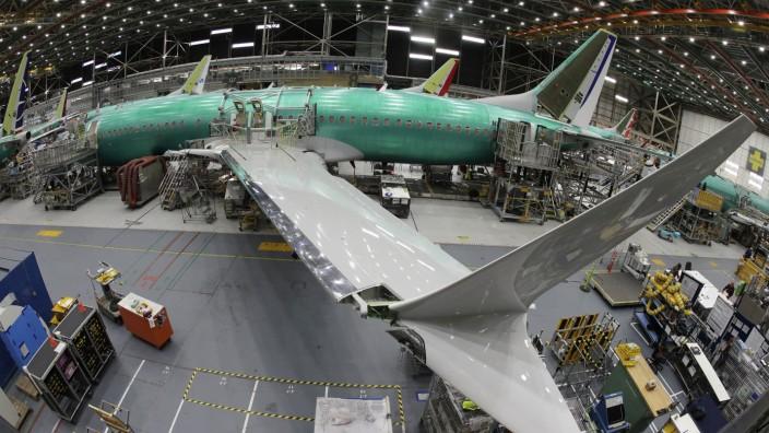 Montagehalle für Boeing 737 Max