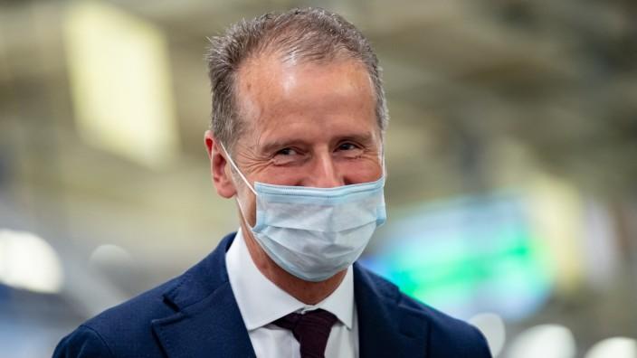VW-Chef Herbert Diess 2020 in Wolfsburg