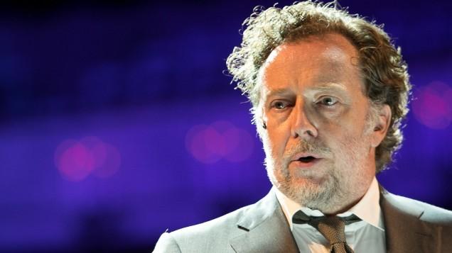 Christian Gerhaher beim Bühnendinner der Bayerischen Staatsoper in München, 2017