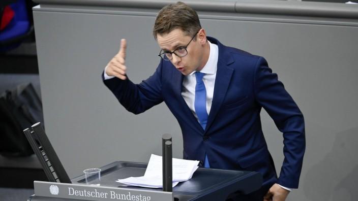 Carsten Linnemann bei der aktuellen Stunde und Befragung der Bundesregierung im Rahmen der 162. Sitzung des Deutschen B