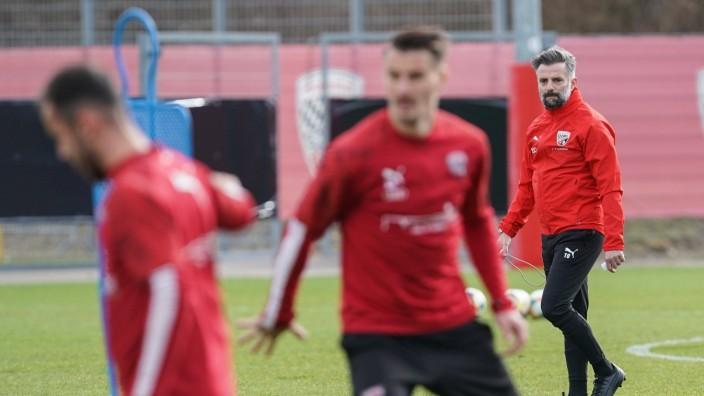 3. Liga - Fußball - FC Ingolstadt 04 - Trainerwechsel, Cheftrainer Tomas Oral (FCI) und sein Co-Trainer Mark Fotheringha; Fußball - FC Ingolstadt - Thomas Oral
