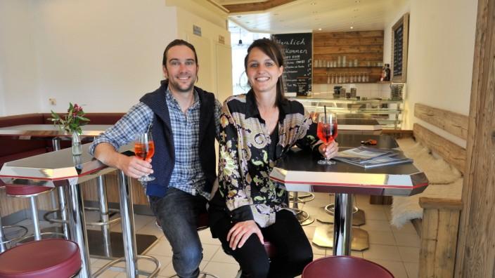 Tutzing: neue Cafebetreiber Nico Greif und Marie von Dall Armi