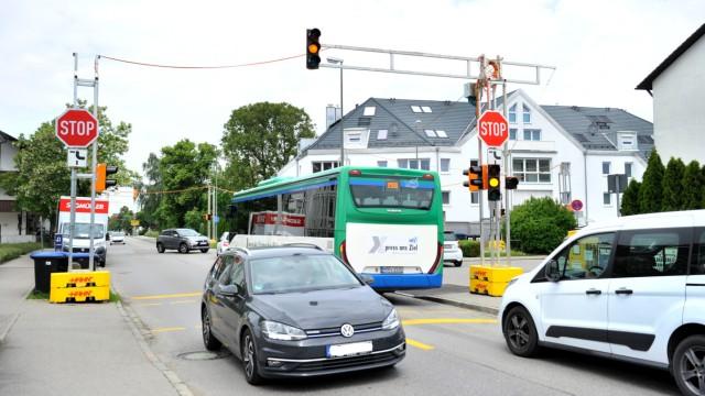 Gilching: Kreuzung mit veränderter Vorfahrt