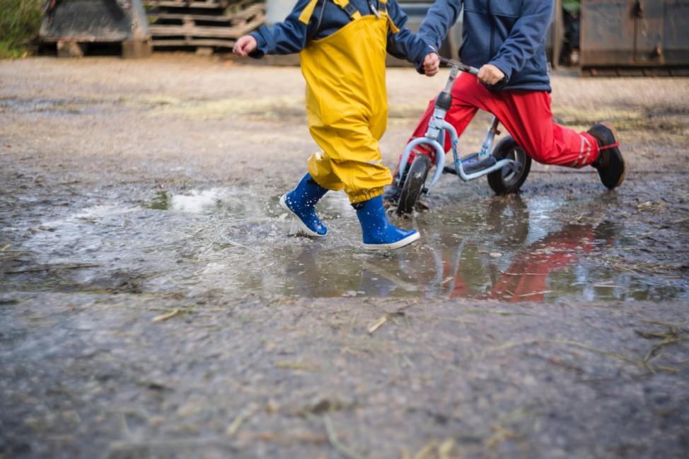 Gummistiefel Kinder Kindersprüche Kindermund