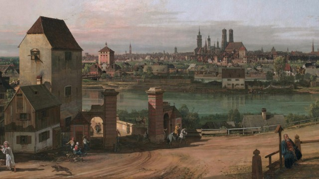 East of Munich, by Bernardo Bellotto