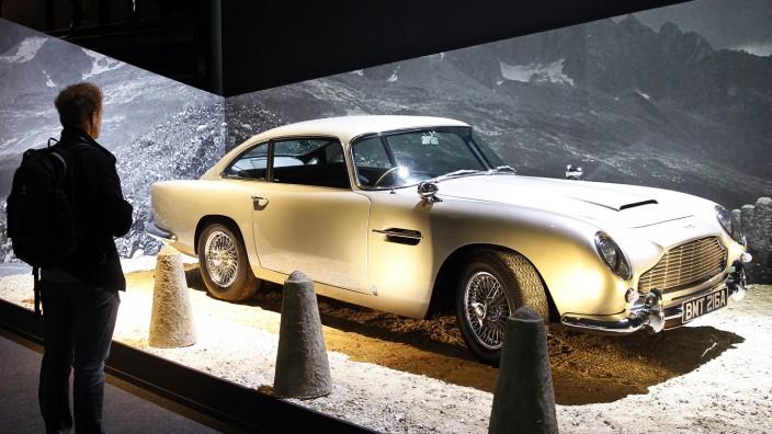 'James Bond 007' : Paris Exhibition At La Villette