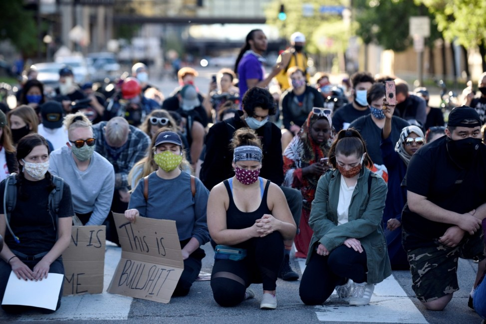 Demonstrations against the killing of George Floyd in Minneapolis