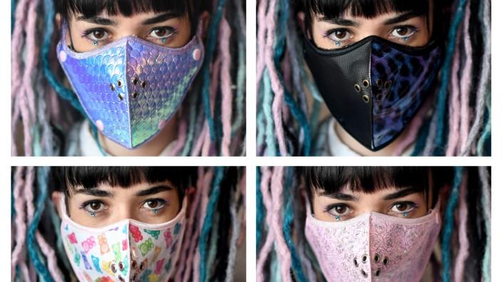 Coronavirus: Berliner Designer entwerfen Mundschutz