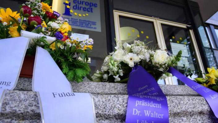Gedenken in Kassel für Walter Lübcke