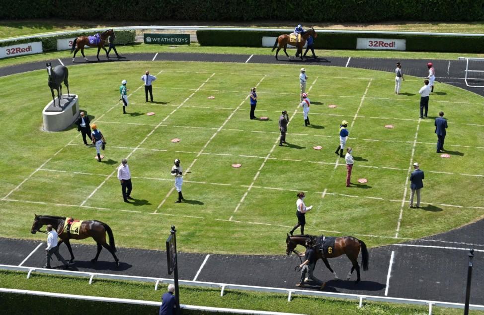 Horse Racing at Kempton Park