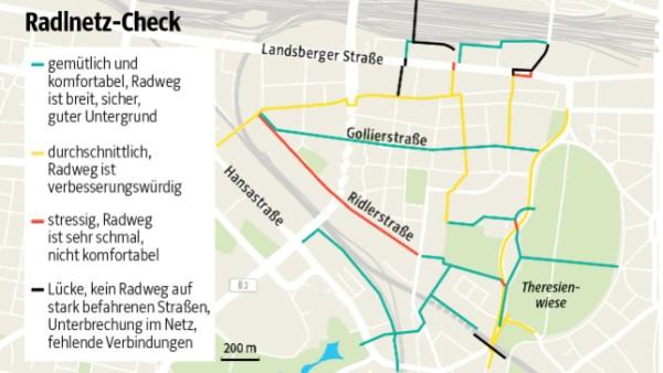 Radnetz München Grafik