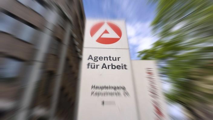19.04.2020, Filiale der Agentur für Arbeit in München, 19.04.2020, Agentur für Arbeit München 19.04.2020, Agentur für A