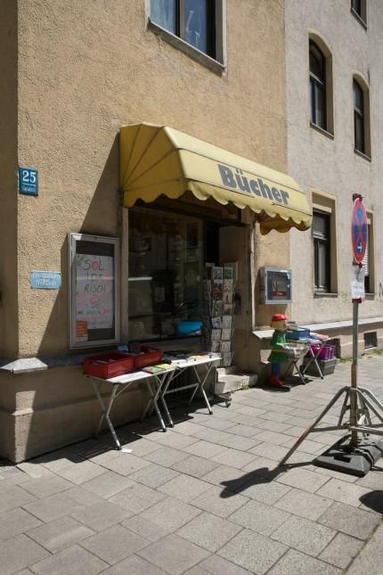 Büchergalerie Westend, Ligsalzstraße 25