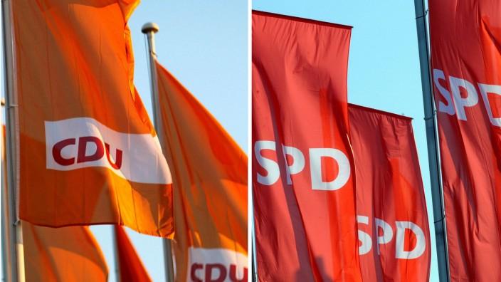 CDU/SPD-Koalition in Niedersachsen