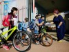 FILE PHOTO: Students enter their elementary school in Sderot as it reopens following following the ease of restrictions preventing the spread of the coronavirus disease (COVID-19)