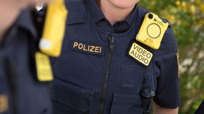 Die Polizei Planegg ist seit gestern mit Bodycams ausgestattet