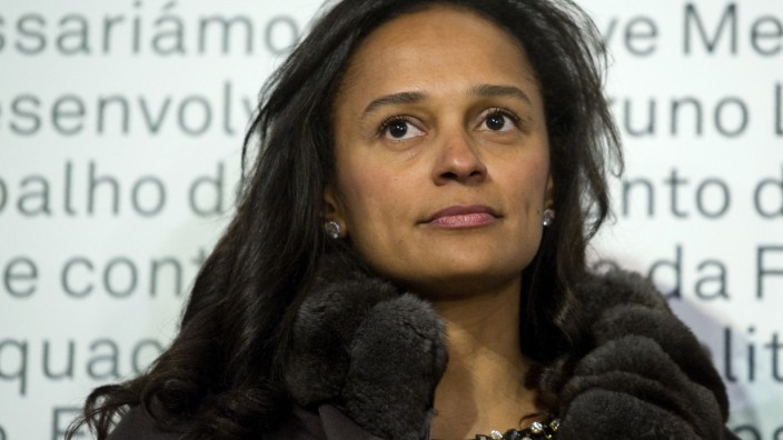 Luanda Leaks: Profitierte vom Einfluss ihres Vaters: Isabel dos Santos, Tochter des ehemaligen angolanischen Präsidenten José Eduardo dos Santos.