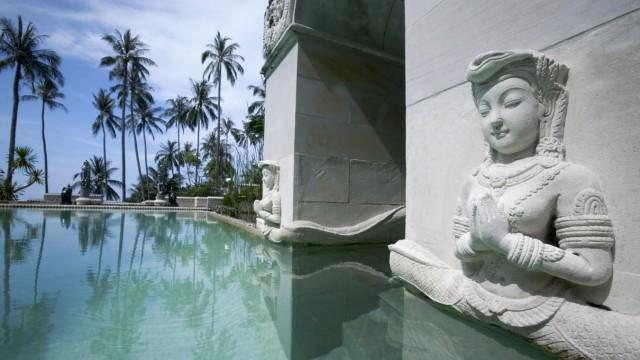 Hotel aussen, Kamalaya