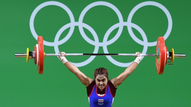 BESTPIX - Weightlifting - Olympics: Day 1