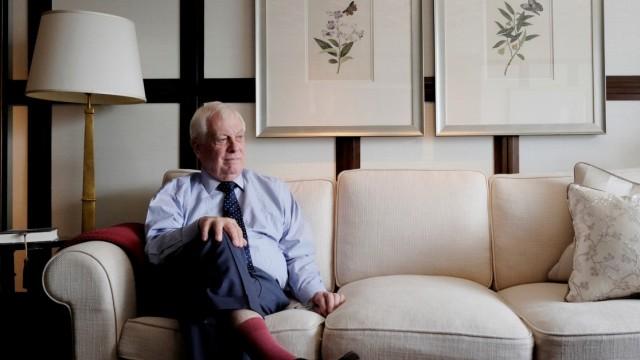 Chris Patten, ehemaliger Gouverneur von Hongkong