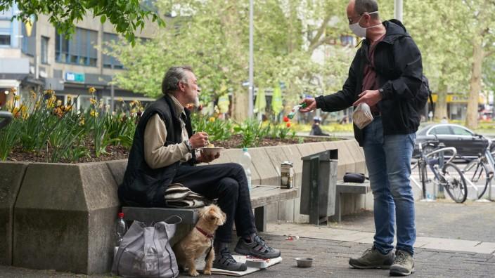 Coronavirus - Obdachlose in Koblenz