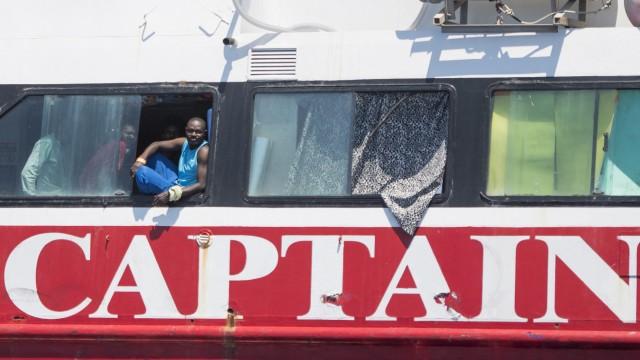 Migranten vor Malta