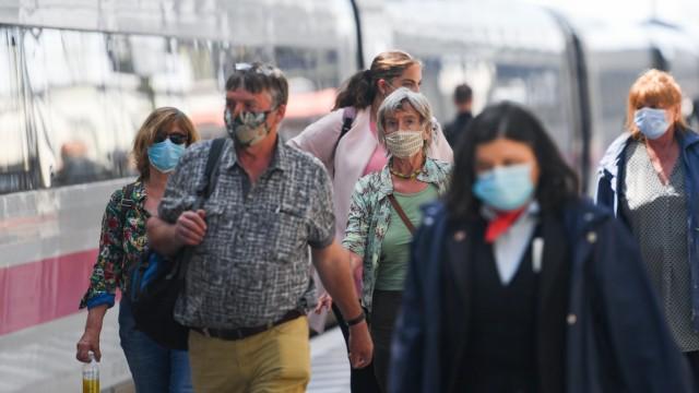 Coronavirus - Bahn stellt Hygienemaßnahmen vor