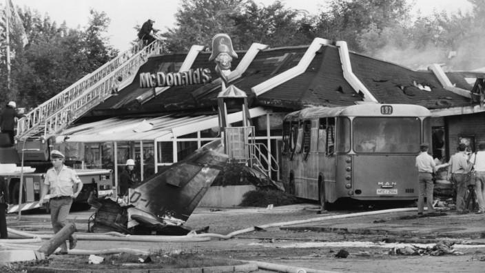Flugzeugabsturz in München-Trudering 1987