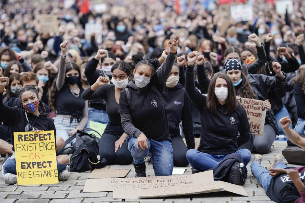 Demonstrationen gegen Rassismus - Mannheim